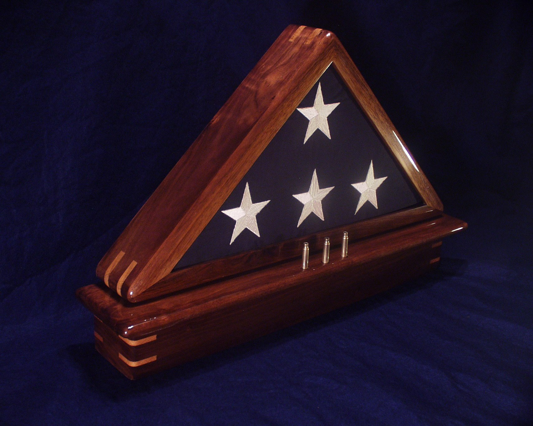Flag Case with Cartridge Mounting Holes